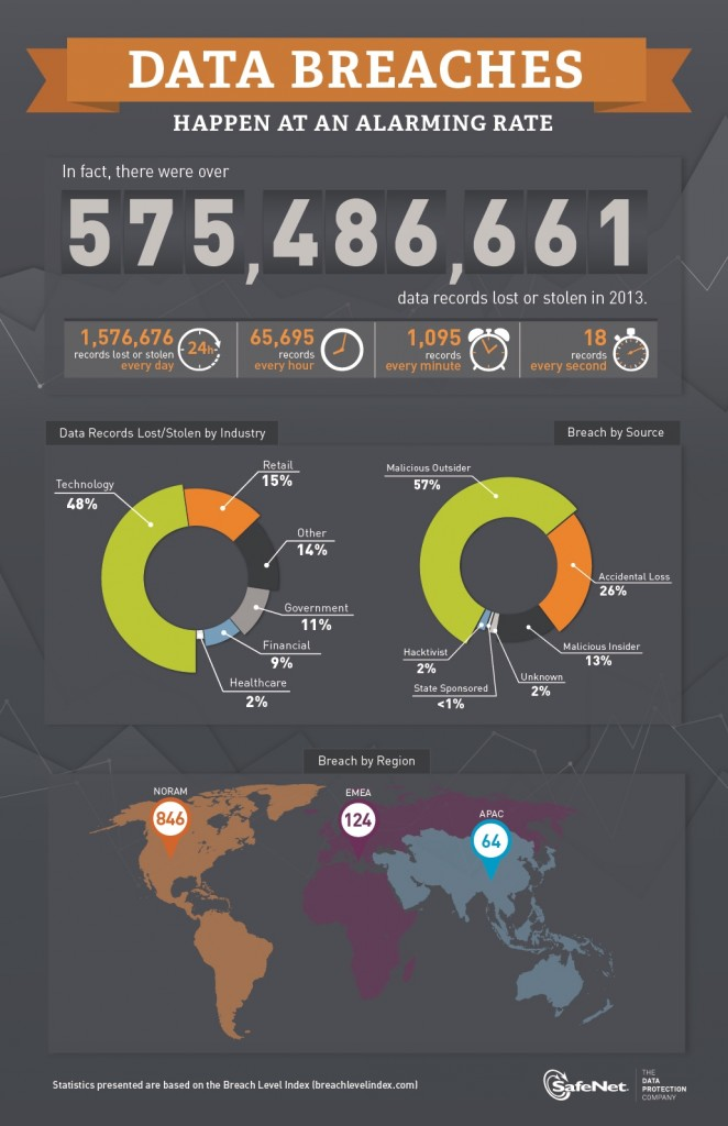Breach Level Index Infographic
