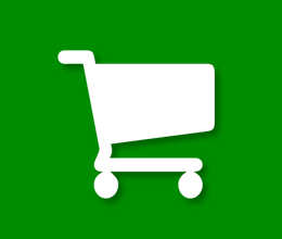 Retail Security Green Icon